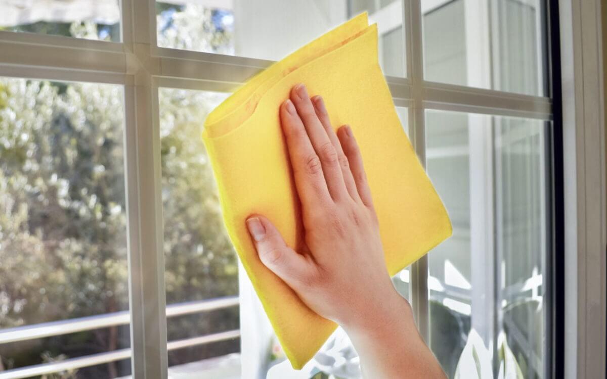 mycie okien standardowych